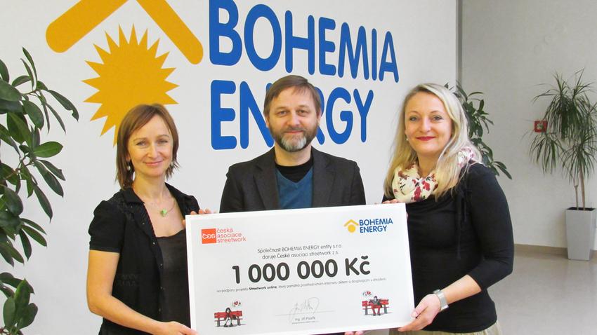 Bohemia Energy zůstává partnerem ČAS